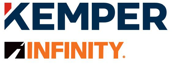 Kemper and Infinity Insurance Logo